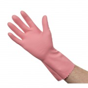 Jantex Household Glove Pink Large Size: L