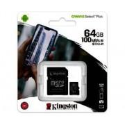 Micro SD Kingston Canvas Select Plus 64GB Micro SDXC + adapter (SDCS2/64GB)