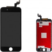 Compatibile Apple A - 821-00540, 821-00158 - Vetro LCD per iPhone 6s - Nero (Grado A)
