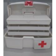 Maleta para Primeiros Socorros SOS com 3 Bandejas Articuladas Polymer