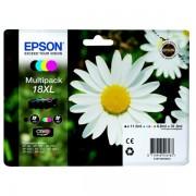 Epson Originale Expression Home XP-302 Cartuccia stampante (18XL / C 13 T 18164010) multicolor Multipack (4 pz.)