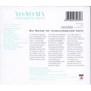 Unknown Yo-Yo Ma - Inspired by Bach - The Cello Suites - Klassiek -CD Box