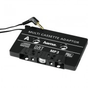 CD/MD/MP3 адаптер за кола HAMA 89292, 3.5 mm жак, Черен -