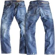Rokker Rebel MC Jeans Blå 36