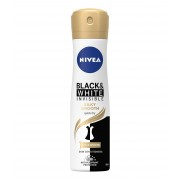 Nivea Deodorant spray, Femei, 150 ml, Invisible Black White Silky Smooth