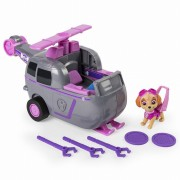 Set de joaca vehicul tranformabil 2 in 1 Skye Flip and Fly Patrula Catelusilor