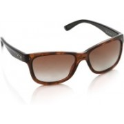 Oakley FOREHAND Wayfarer Sunglass(Brown)