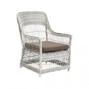 Sika-Design Fåtölj dawn lounge chair vintage white, sika-design