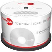 PRIM 2761102 - CD-R 80Min/700MB, 50-er Cakebox