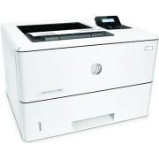 Imprimanta HP LaserJet Enterprise M501n, laser jet alb-negru, A4, 43 ppm, Retea + Antivirus BitDefender Plus 2018, 1 PC, 1 an, Licenta noua, Scratch Card
