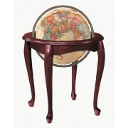 Replogle Globes Queen Anne Globe, Antique Ocean, 16-inch Diameter