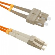 Qoltec Optic Patchcord SC/UPC - LC/UPC MM 50/125 OM2 1m