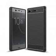 Carcasa TECH-PROTECT TPUCARBON Sony Xperia XZ1 Compact Black