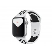 Nike Умные часы APPLE Watch Nike Series 5 40mm Silver Aluminium with Pure Platinum-Black Nike Sport Band MX3R2RU/A
