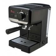Sirge Macchina per Caffe Espresso e Cappuccino caffe in polvere e Cialde di carta Lussy 15bar POMPA ITALIANA: con 2 filtri in dotazi