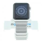 Apple Watch (Gen. 1) 38mm Edelstahlgehäuse Silber mit Gliederarmband Silber Edelstahl Silber