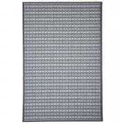 Floorita binnen/buitentapijt Stuoia - antraciet - 155x230 cm - Leen Bakker