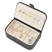 Pierre Cardin PXX0178Q Set 6 perechi de cercei argintii si aurii 3 coliere