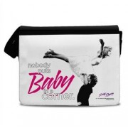 Nobody Puts Baby In A Corner Messenger Bag, MESSENGER SHOULDER BAG
