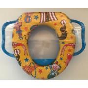 Toiletbril verkleiner Voor Kinderen - blauw - Circus