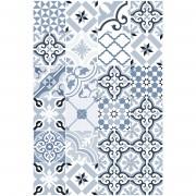 Floorart Tapis vinyle Arianne bleu - 133x200 cm