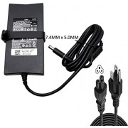 130W Charger AC Adapter for Dell Latitude E6400 X300 D400 D410 D420 D430 D500 D505 D510 D520 D530 E6220 E6320 E6410 E6410 ATG E6510/E6500 6400 ATG/ XT3 Laptop Adapter Power Supply Cord