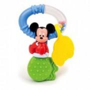 Zornaitoare Cheita Mickey Mouse breloc masinuta jucaria de dentitie. bilute colorate