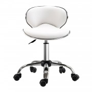 HOMCOM Adjustable Beauty Salon Chair-White