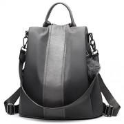 PINCNEL Women Backpack Purse Waterproof Nylon Anti-theft Rucksack Lightweight Shoulder Bag