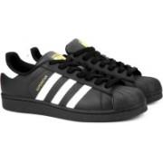 ADIDAS ORIGINALS SUPERSTAR FOUNDATION Sneakers For Men(Black, White)