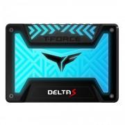 """SSD 2.5"""", 500GB, Team Group T-Force Delta S RGB, SATA3, Black (T253TR500G3C312)"""