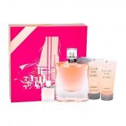 Lancôme La Vie Est Belle confezione regalo eau de parfum 100 ml + lozione corpo 50 ml + doccia gel 50 ml + eau de parfum 4 ml Donna