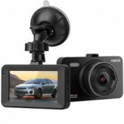 Camera auto DVR iUni Dash A78 Display 3 inch IPS Full HD Night Vision Senzor G by Anytek Bonus Bratara Roca Vulcanica unisex