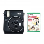 Fujifilm Instax Mini 70 Camera with 10 Shots Black