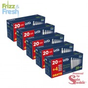 "Laica ""Frizz&Fresh"" CO2 szódapatron – 5 x 20+4 db"