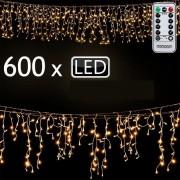 Lampki Świąteczne 600led Ozdoby Choinkowe Pilot