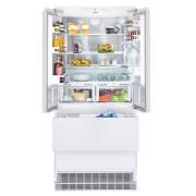 Combină frigorifică încorporabilă Liebherr ECBN 6256, 471 L, NoFrost, SuperCool, SuperFrost, IceMaker, BioFresh, Display, Control electronic, Siguranţă copii, H 203 cm, A++