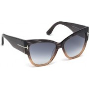TOM FORD Butterfly Sunglasses(Grey)