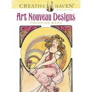 Creative Haven Art Nouveau Designs Coloring Book, Paperback/Alphonse Maria Mucha