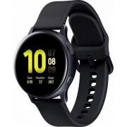 "Smartwatch Samsung Galaxy Watch Active 2 SM-R835, Procesor Dual-Core 1.15GHz, Super AMOLED 1.2"", 1.5GB RAM, 4GB Flash, Bluetooth, Wi-Fi, 4G, Carcasa Aluminiu, Bratara Cauciuc 40mm, Rezistent la apa si praf, Tizen (Negru)"