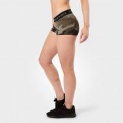 Better Bodies Women Fitness Hotpant, Green Camoprint