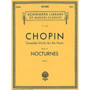 Nocturnes: Piano Solo, Paperback/Frederic Chopin