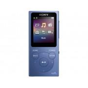 Sony NW-E393 MP4-speler 4 GB Blauw