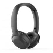 HEADPHONES, Philips UpBeat, Microphone, Bluetooth, 32 мм мембрани/затворен гръб, Black (TAUH202BK)