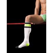 Barcode Berlin Neon Socks White/Black/Green 91062-249
