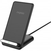 Wireless Charger, RAPOO XC210, Qi, 7.5/10W, Черен (19539)