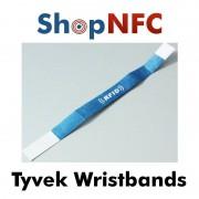Bracciali NFC monouso in Tyvek - Stampa personalizzata