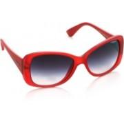 Vogue Over-sized Sunglasses(Violet)