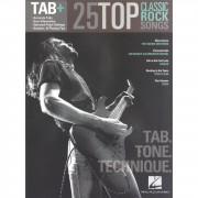 Hal Leonard - Tab+: 25 Classic Rock Songs - Tab. Tone. Technique.