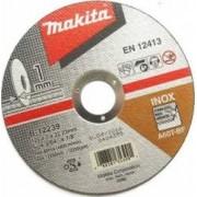 Set 10 discuri de taiere inox Makita B-12239 125x1 mm